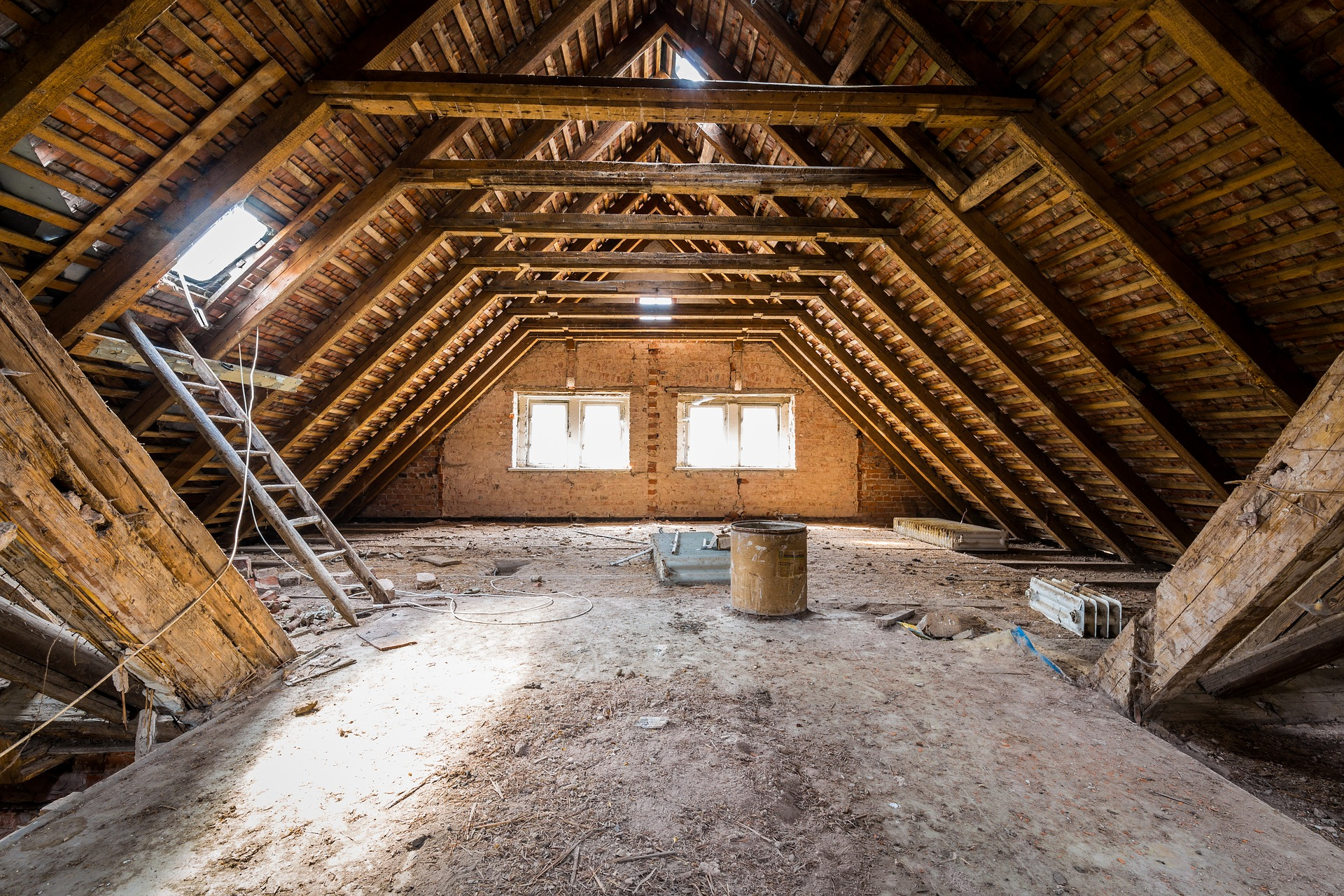 Insulation And Ventilation Of The Attic Grey Dog Home